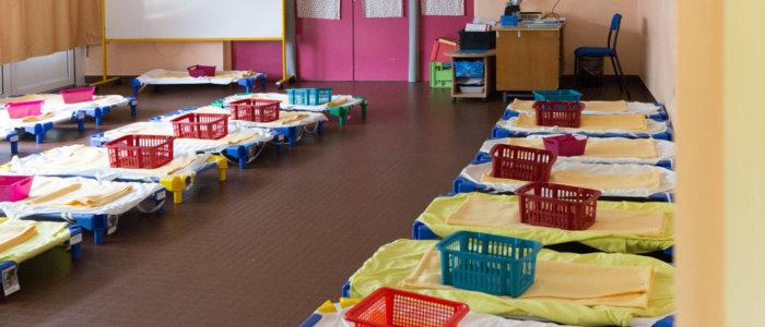 aménager les espaces de sieste en crèche et maternelle