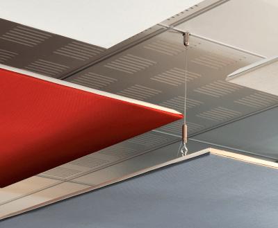Elingues pour panneaux acoustiques