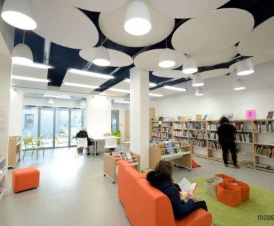 Résultat design pour une bibliothèque