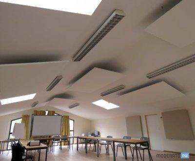 Salle de réunion moins bruyante