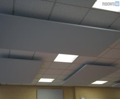 Panneaux phoniques sous faux plafond