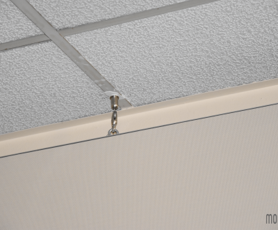Panneaux suspendus avec accroches