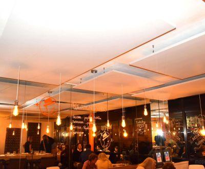 Panneaux suspendus restaurant