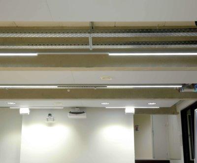 Ventilation intégrée dans panneau acoustique