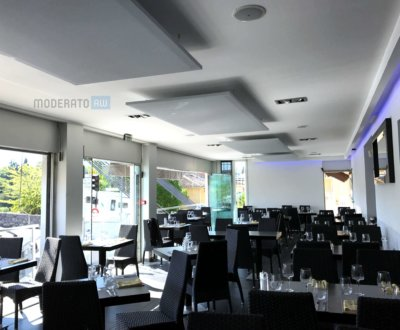 Panneaux d'absorption phonique pour restaurant