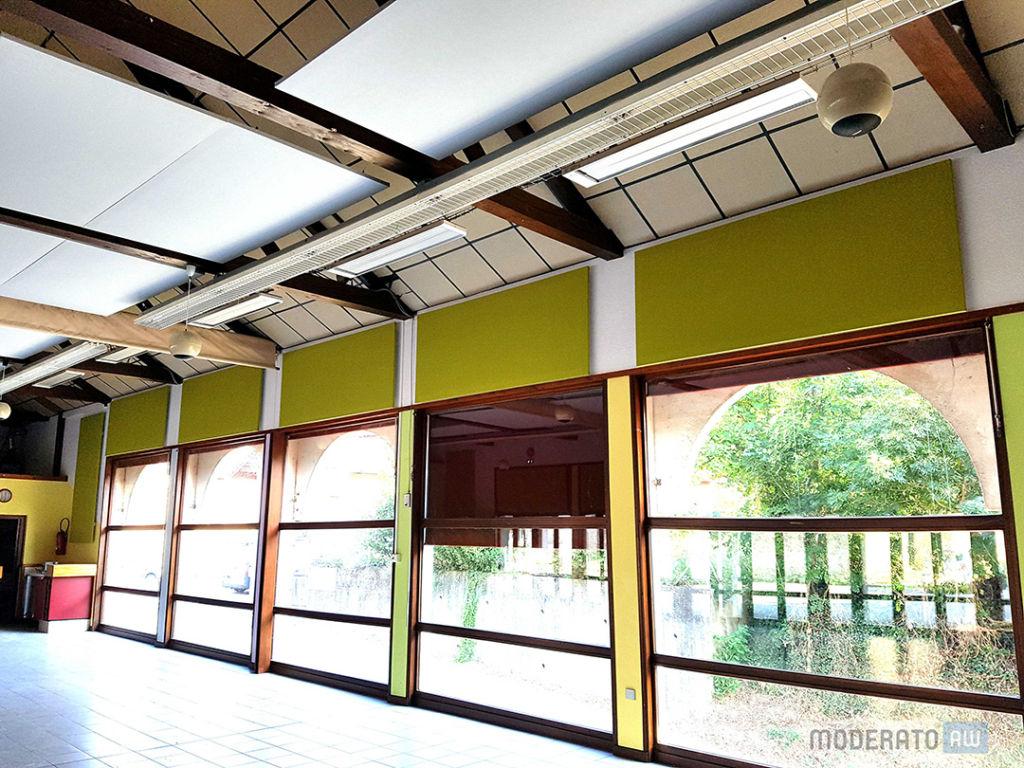 panneaux acoustiques salle polyvalente