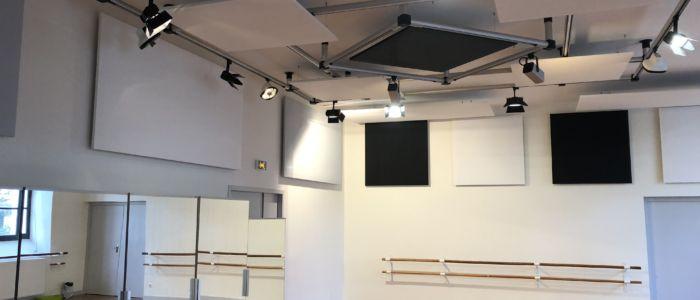 traitement acoustique auditorium