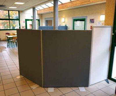 Minis cloisons – Séparation d'espaces