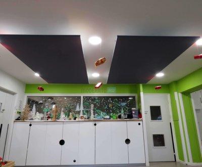 Plafond acoustique pour crèche