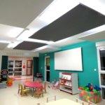 Panneaux d'absorption acoustique pour crèches