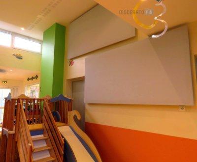 Absorption phonique sur les murs