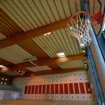 Panneaux acoustiques pour salles de sports