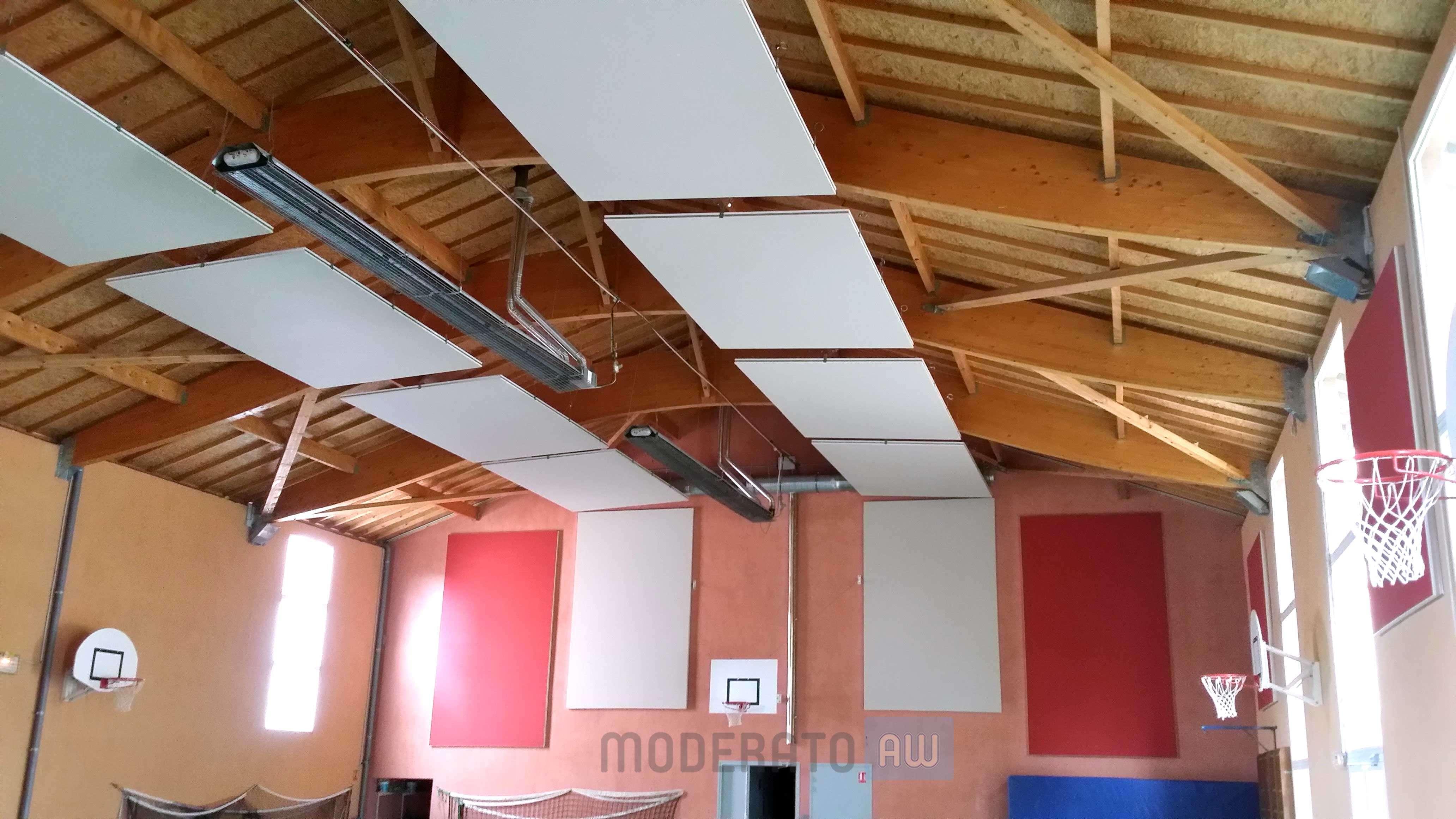 panneaux acoustiques salle de sport