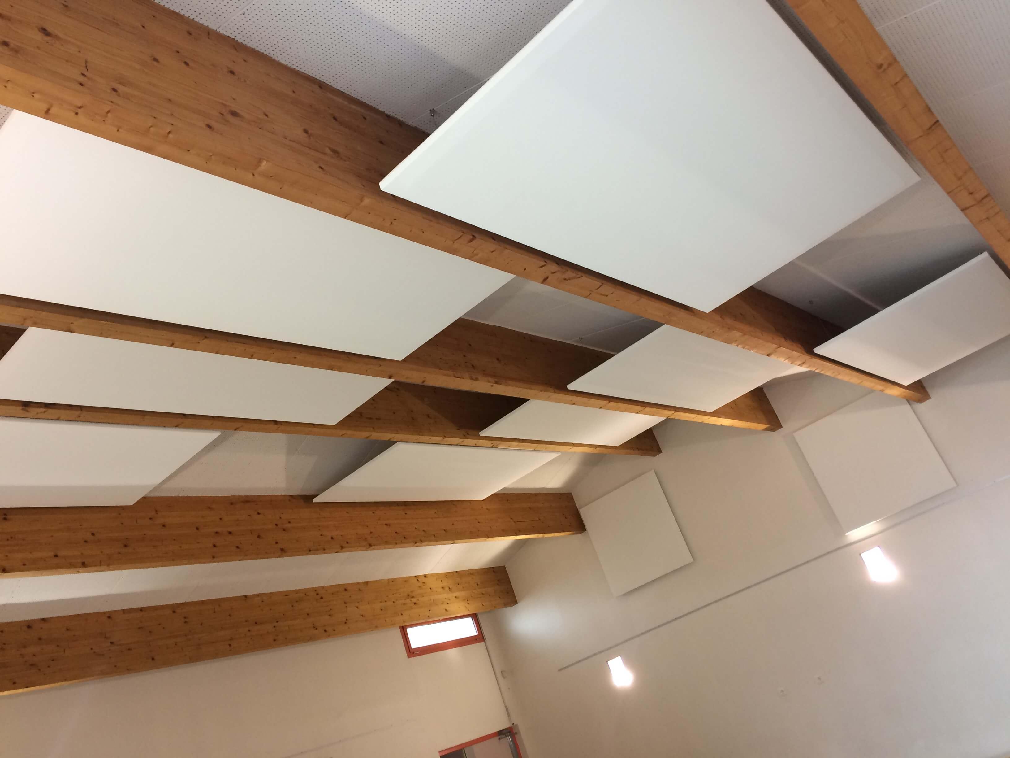 panneaux acoustiques salle
