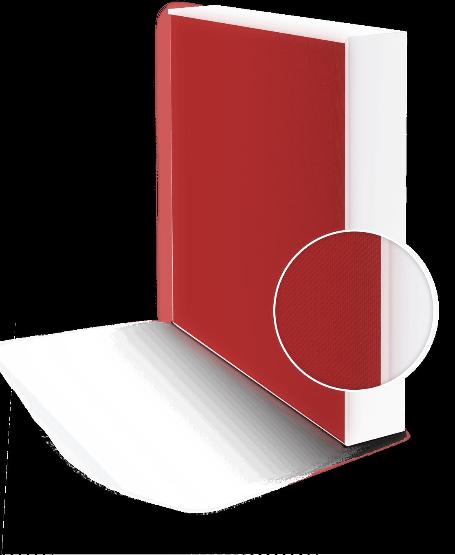 Panneau acoustique rouge