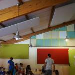 Le groupe scolaire de Ramonville s'équipe de panneaux acoustiques et éducatifs