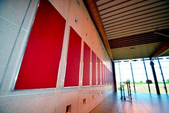 Panneaux acoustiques pour les gymnases