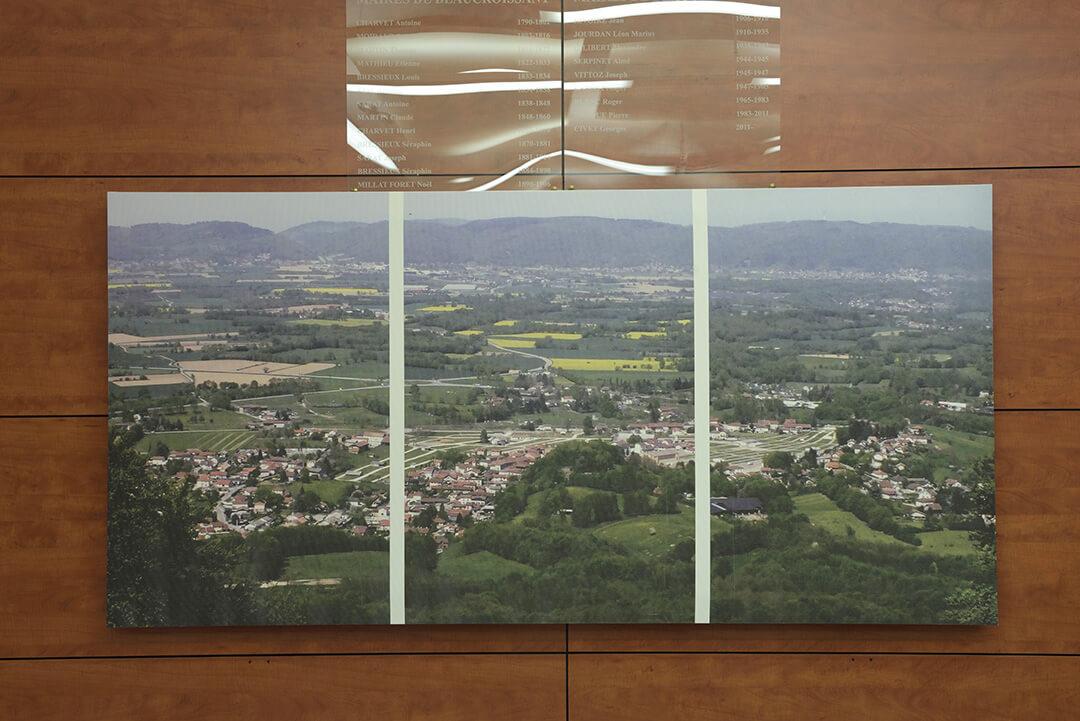 panneaux acoustiques photo personnalisée