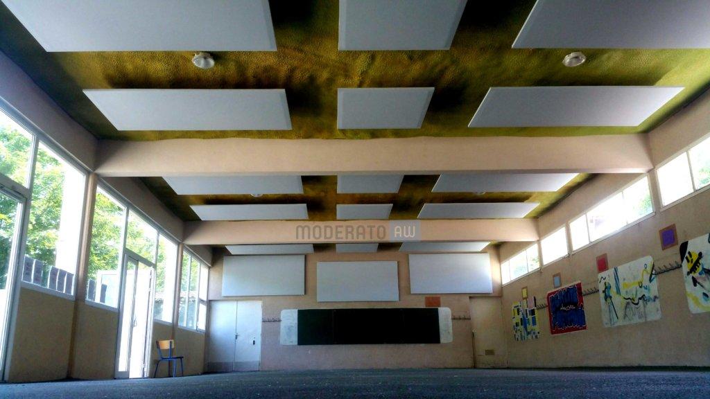 panneaux acoustiques suspendus et muraux moderato. Black Bedroom Furniture Sets. Home Design Ideas