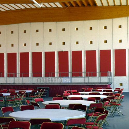 isolation acoustique salle des fêtes