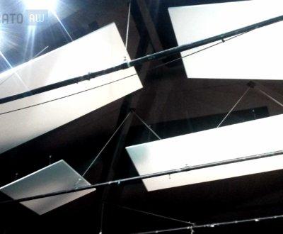 panneaux acoustiques aériens