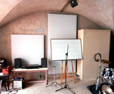 Panneaux acoustique pour salle de musique