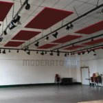 Panneaux d'absorption acoustique pour salles de spectacles