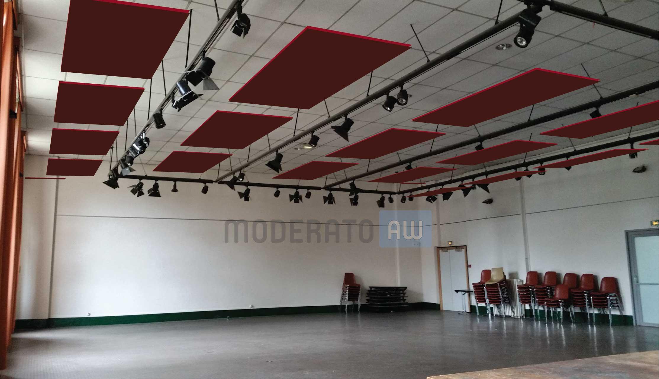 acoustique salle polyvalente et grands volumes