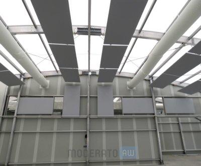 Panneaux phoniques suspendus et muraux