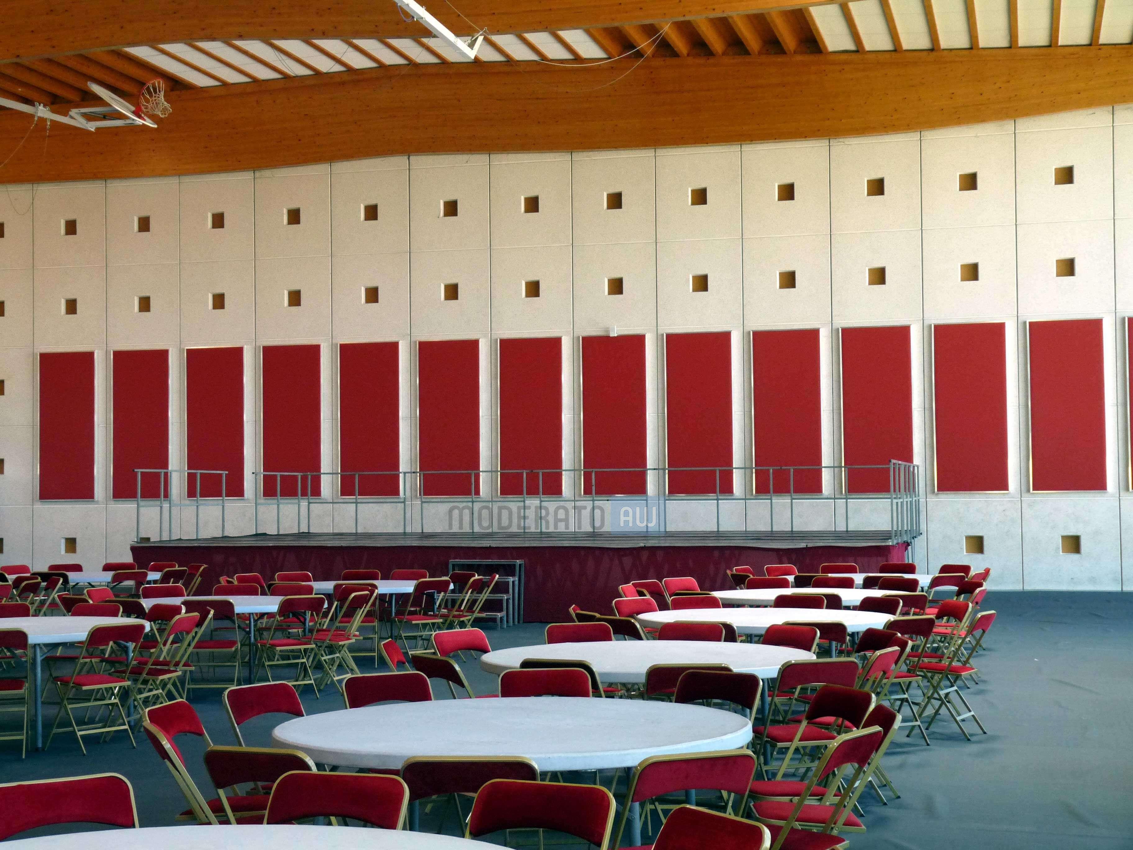 absorption acoustique salle de spectacles et grands volumes