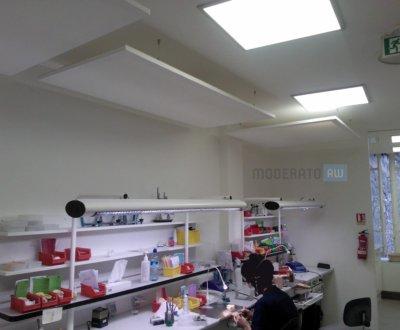 Panneaux acoustiques pour cabinet dentaire